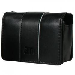 Liten, Kamera- Kreditkort-  Party- Smyckeväska i svart läder