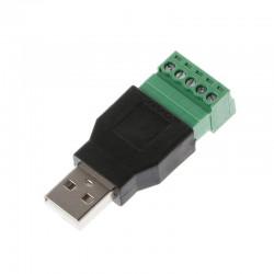 Adapterkontakt USB-A hane...
