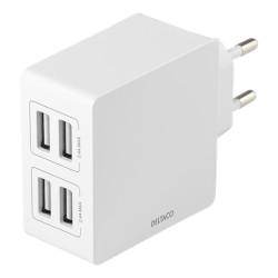 Kraftfull USB-laddare 4,8A...