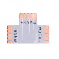 Flat LED-skarv-T 5-PIN 10mm...