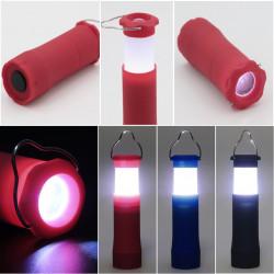 Campinglampa Tältlampa Ficklampa med 3 watts LED lampa