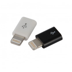 Adapter USB-Micro (hona) till Lightning (nyare iphone) hane