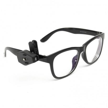 1 st Glasögon-Lampa med clip för skalmen