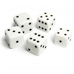 5 st tärningar 10mm till spel sällskapsspel familjespel brädspel