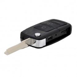 Spionkamera gömd i Bilnyckel + 16GB minneskort HDE-S77