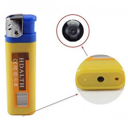 Spionkamera + 8GB minneskort gömd i cigarettändare