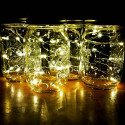 Ljusslinga 20 Micro LED, Julbelysning med batteri
