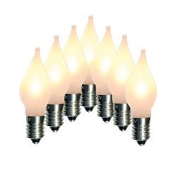 7-pack LED-lampor till Adventsljusstakar Elsnåla E10 Uni 10-55V