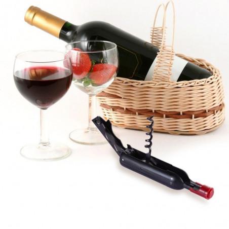 Korkskruv, Flasköppnare, Vinöppnare i form av en liten vinflaska