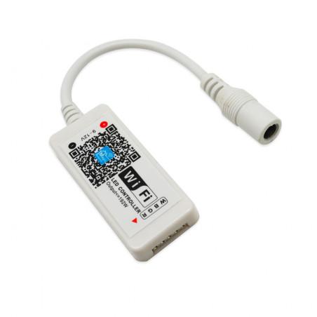 Trådlös RGBW-LED-styrning via wifi och mobilen
