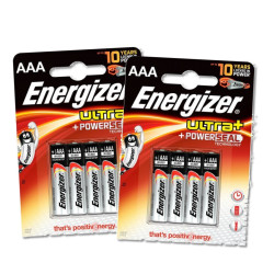 Energizer Ultra+ -  8-pack PowerSeal  AAA