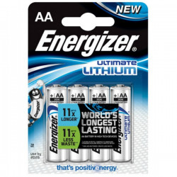 4-pack Super-Batterier AA - Energizer Ultimate Lithium