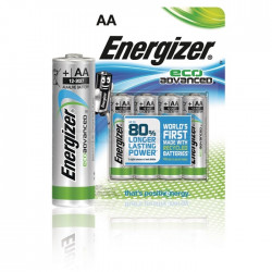 TÄNK PÅ MILJÖN! 4-pack ECO Advanced AA - Energizer batterier