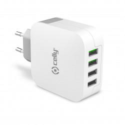 Kraftig USB-laddare 4,8A (4...
