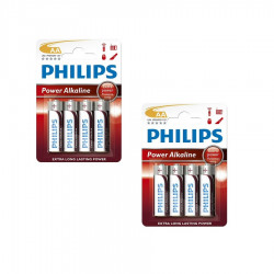 Philips Power Alkaline AA LR06 8-pack