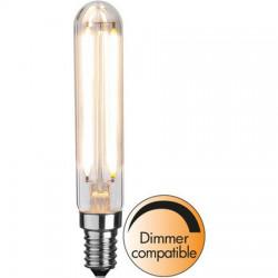 Dimbar LED-lampa E14 T20 Filament för tavelbelysningar  mm