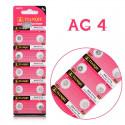 Batteri AG4 LR66 SR626SW 10-pack knappcell