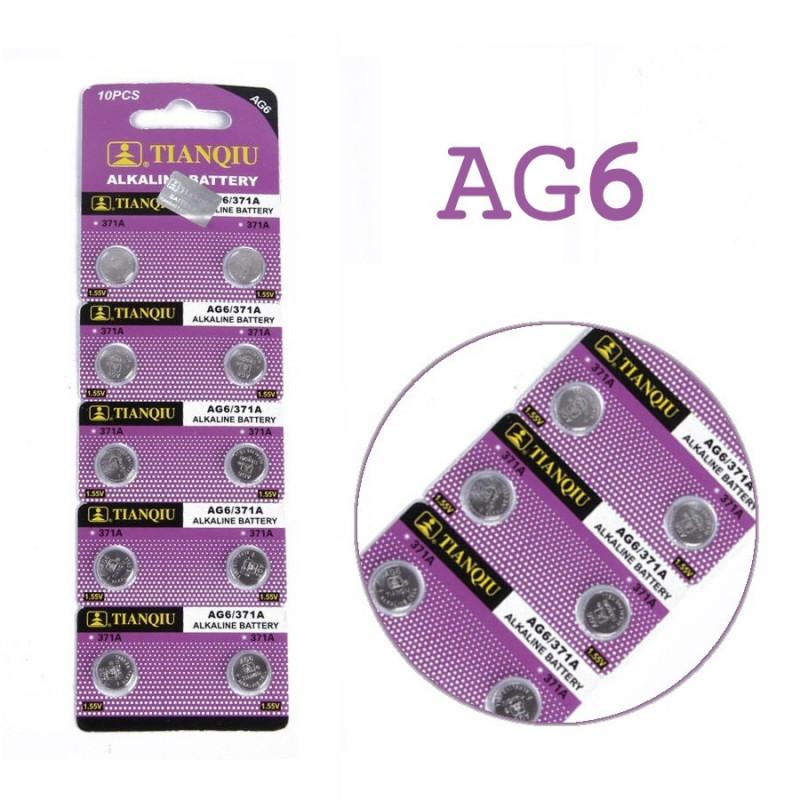 Batteri AG6, A370, A371, A171, LR69, LR920, LR921