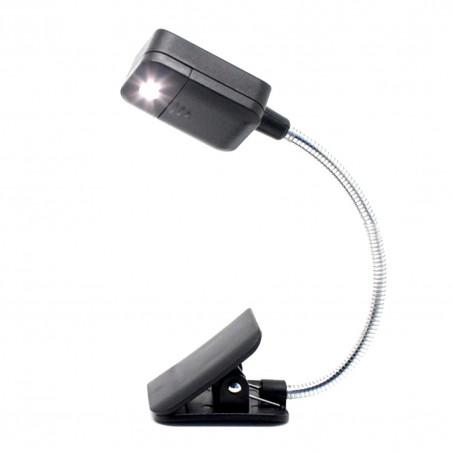 Praktisk Boklampa Läslampa Reselampa på svanhals
