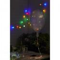 Ljusslinga Dew Drop med pärlor 40 färgade LED och TIMER
