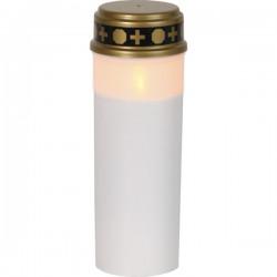 21cm LED vackert Gravljus Serene med TIMER, 80 DAGAR