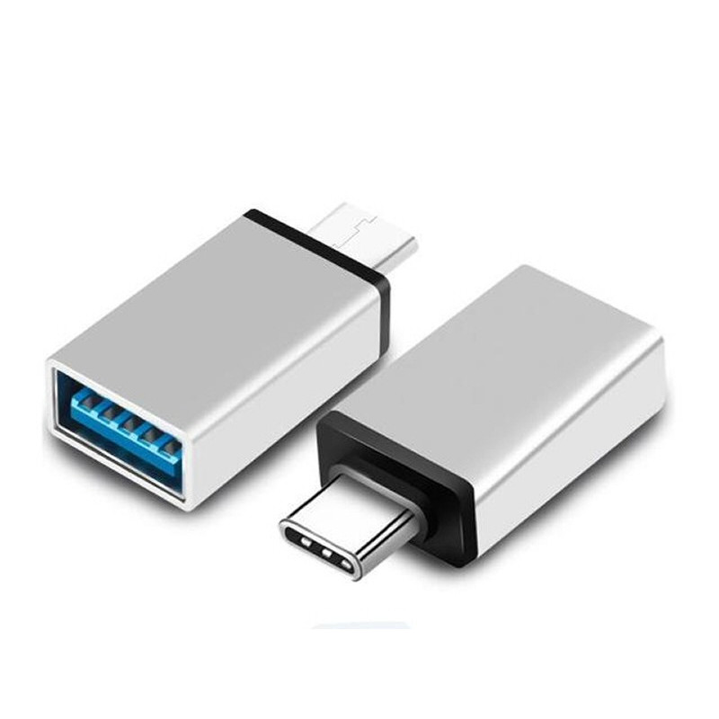 Adapterkontakt USB-A hona till USB-C hane