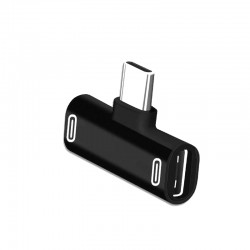 Adapter USB-C till 2x...