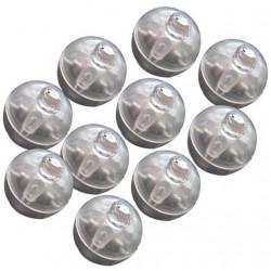 10 st RGB Ballong-lampor...