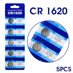 Batteri, CR1620, 1620, 3...
