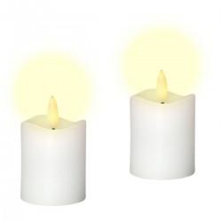 2 söta LED Votivljus,...